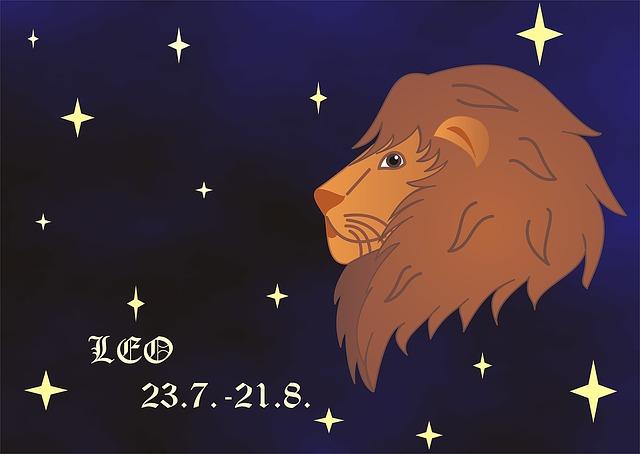 зодиак лев