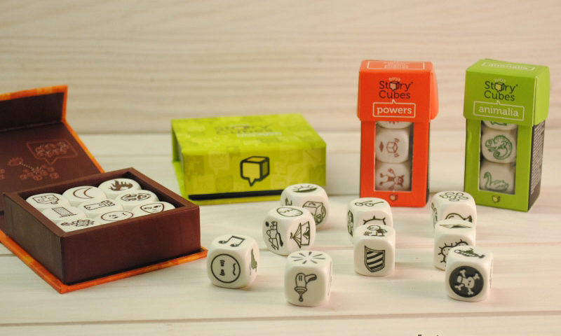 кубики историй набор по 3 шт