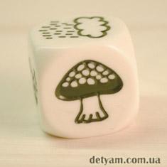 Story Cubes кубик мухомор из набора путешествие